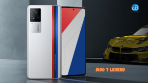 IQOO 7 Legend Design teased by IQOO ,confirms the BMW M Motorsport Edition launch Soon In India