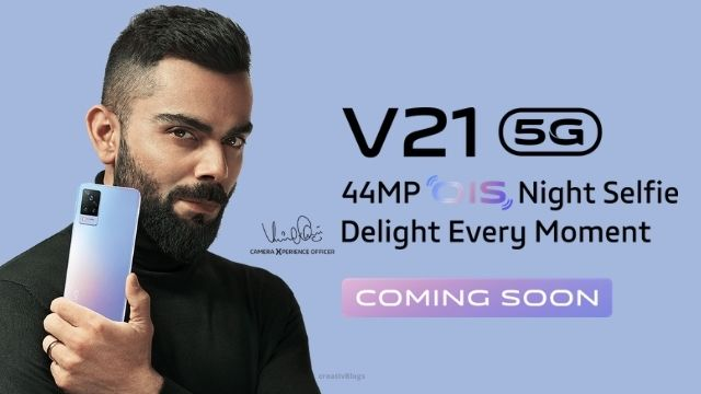 Vivo V21 5G , features , specifications and all details